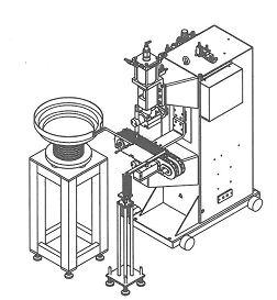 Автоматизированный сварочный комплекс для производства хомутов SS-SA800