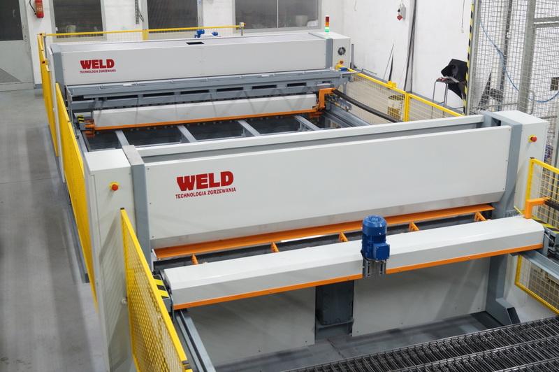 Автоматическая линия для производства панелей ограждения