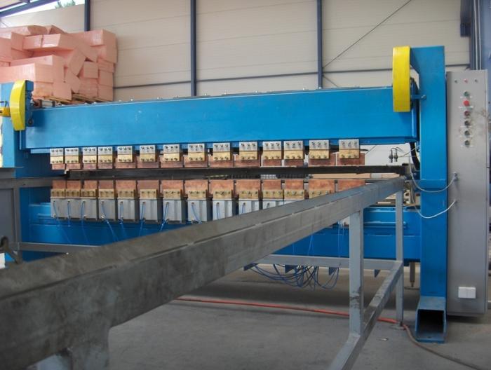 Многоточечная машина контактной сварки для производства арматурных каркасов ZW-10